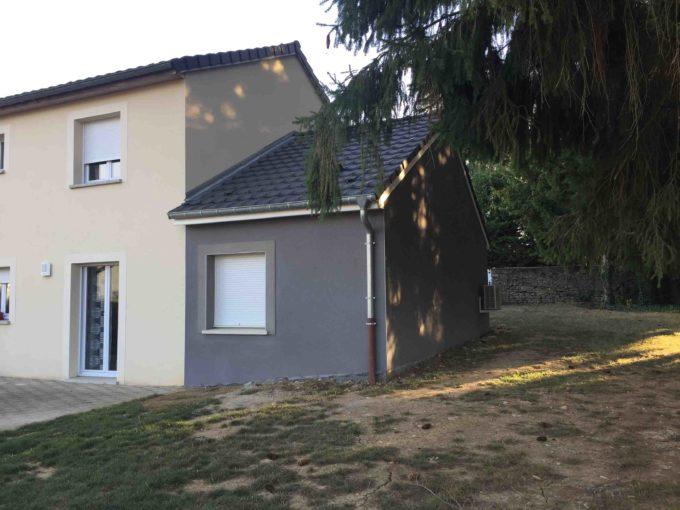 Projet d'une extension mené sur une maison à Tressange.